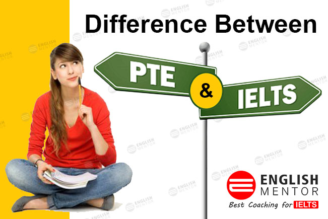 difference between PTE and IELTS
